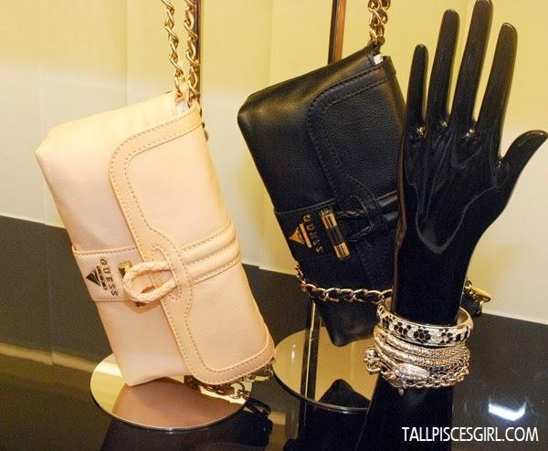 TILDA Clutch Bag in Light Peach and Black