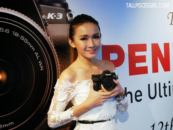 Stunning model with Pentax K-3