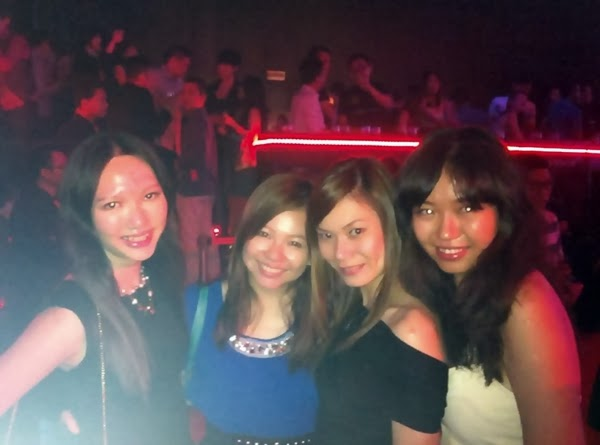 PESS girl rocks! With Yvonne, Andrea and Mun Yee