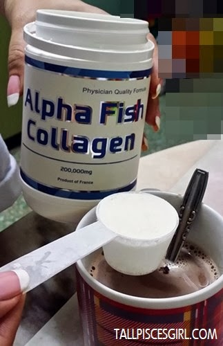 Adding 1 scoop of collagen into my favorite beverage