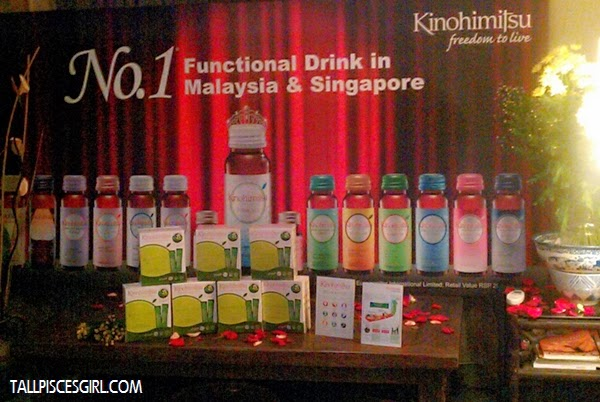 Kinohimitsu J'pan Bio-Booster with other amazing functional drinks from Kinohimitsu