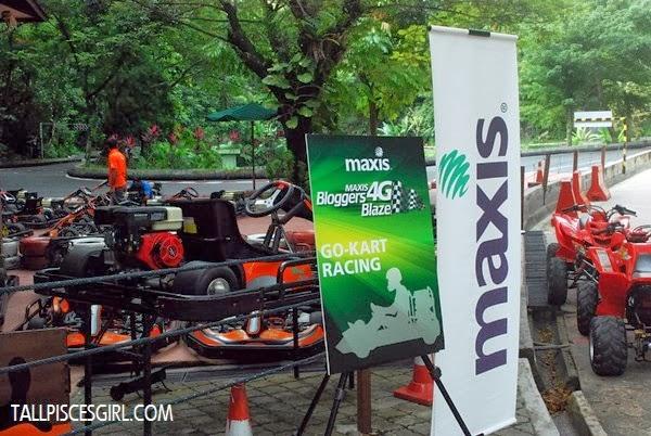 Sunway Lagoon's Go-Kart Racing spot