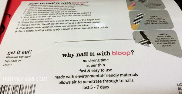 Why nail it with bloop?