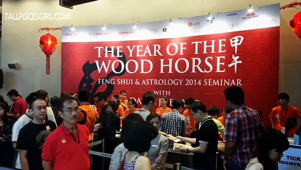 Many people are here to see what Joey Yap has got to say about the year of Wood Horse