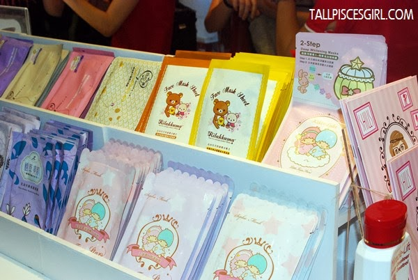 Sheet masks in cute packaging!
