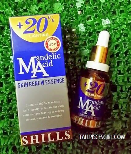 SHILLS Mandelic Acid Skin Renew Essence (RM 129)