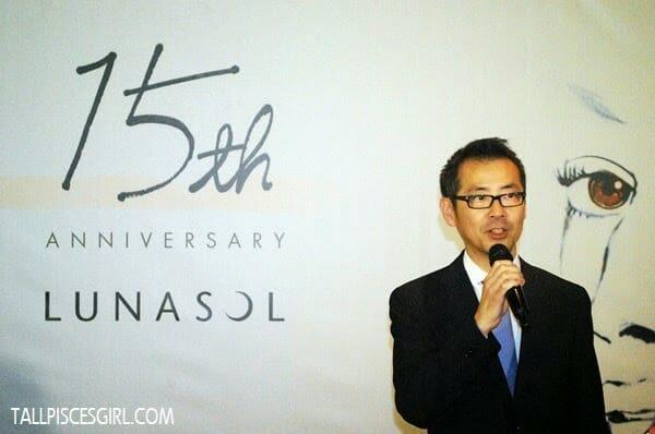 CEO of Kanebo Cosmetics Malaysia, Mr. Masahiro Yamasaki