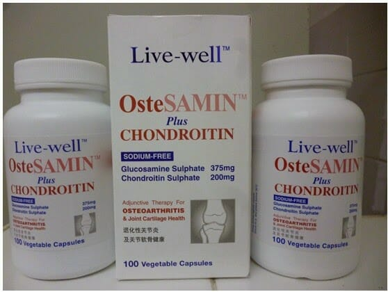 Live-well OsteSAMIN Plus Chondroitin