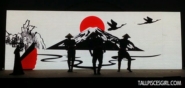 A dance performance inspired by the quick, swift movements of Japan's Shinobi