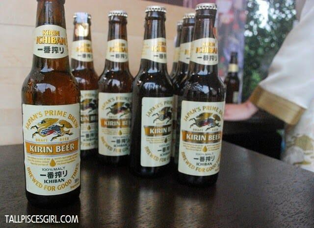 Kirin Ichiban, Japan's No.1 100% Malt beer