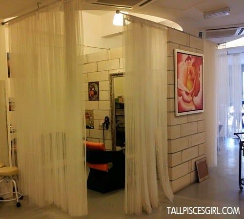 Daisuke Salon - Private area