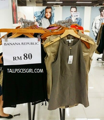 FJ Benjamin Warehouse Clearance Sale - Banana Republic