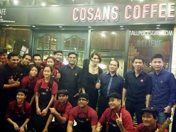 COSANS Coffee @ Solaris Mont Kiara Grand Opening 4