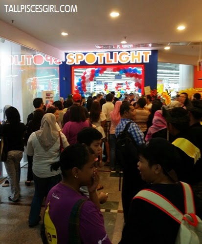 Many people anticipating the grand launch of Spotlight Malaysia