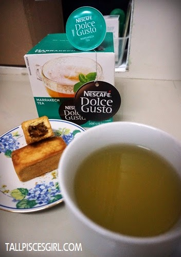 Pineapple cake + Marrakech Tea = Perfect tea time