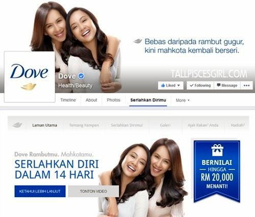 Dove Serlahkan Dirimu Contest