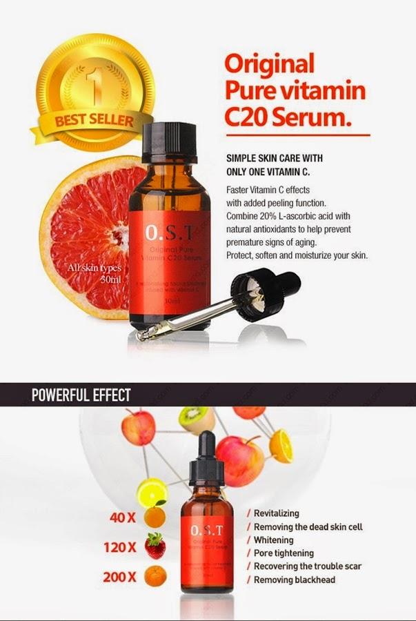 Review: O.S.T Original Pure Vitamin C20 Serum 1