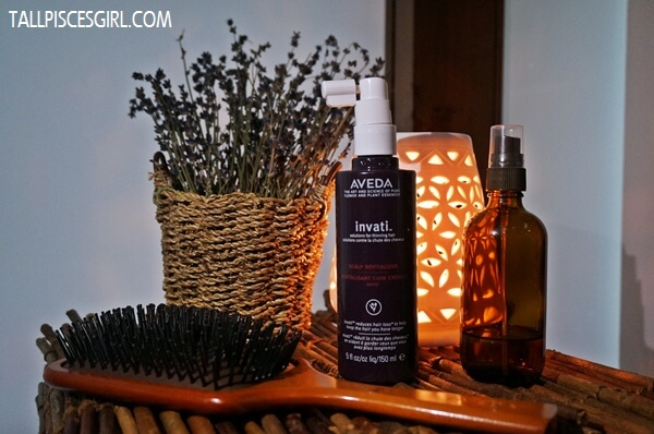 Experienced an amazing scalp massage with Aveda Invati™ Scalp Revitalizer and Aveda Wooden Paddle Brush