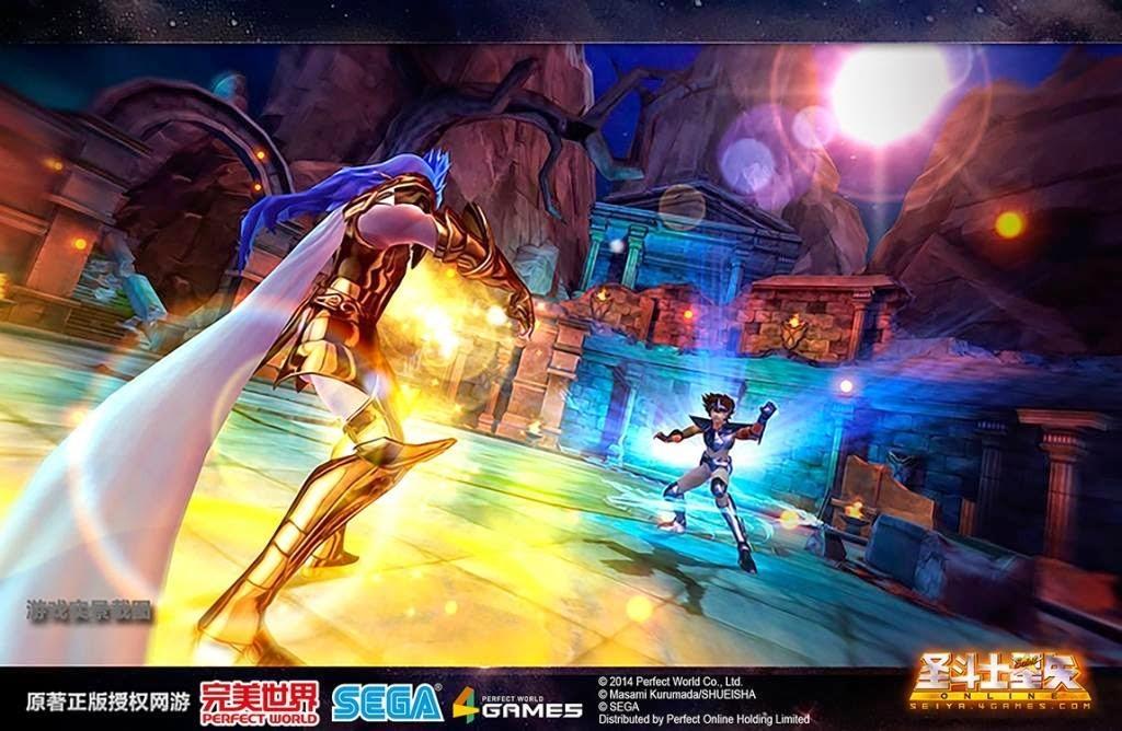 完美世界《圣斗士星矢Online》3D游戏經典重现 5