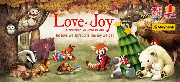 A Rustic Woodland Christmas - Love & Joy