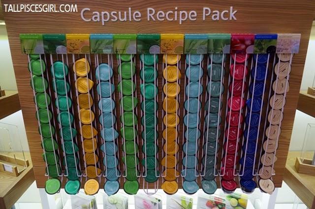 Capsule Recipe Pack Price: RM 7