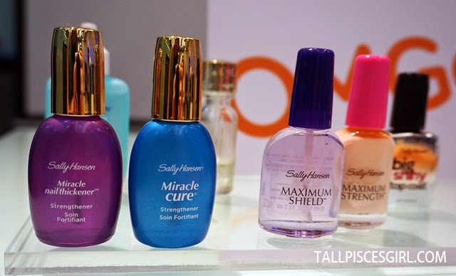 Sally Hansen nail strengthening products