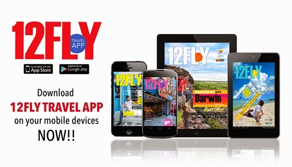 Download 12FLY Travel App