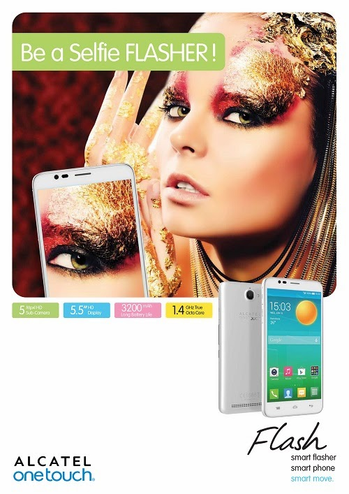 Alcatel Onetouch Flash Poster