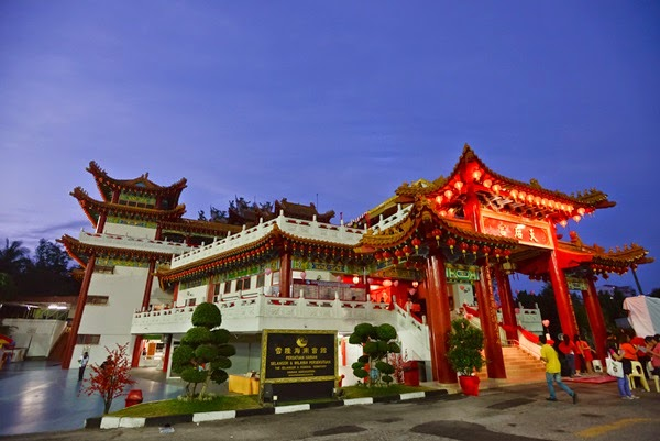 Thean Hou Temple in the morning @ 7 am