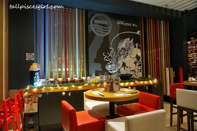 Hakata IPPUDO Pavilion Interior