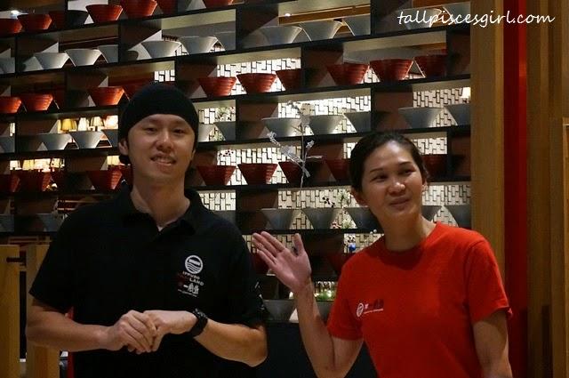 Hakata IPPUDO's Japanese chef