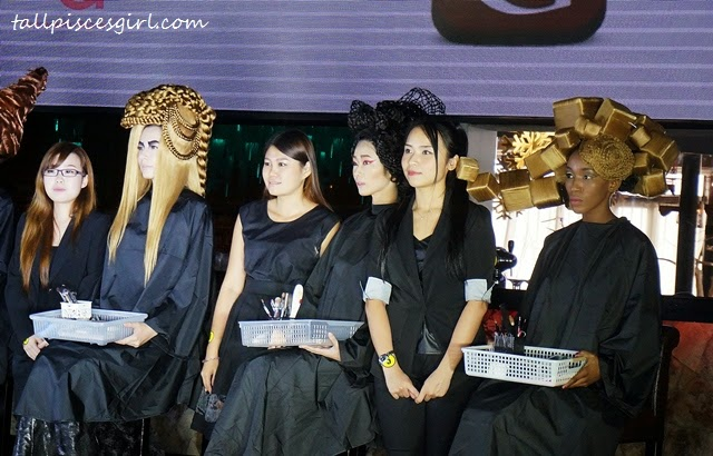 Gelly Wee Makeup Studio Graduation Show + Competition 2