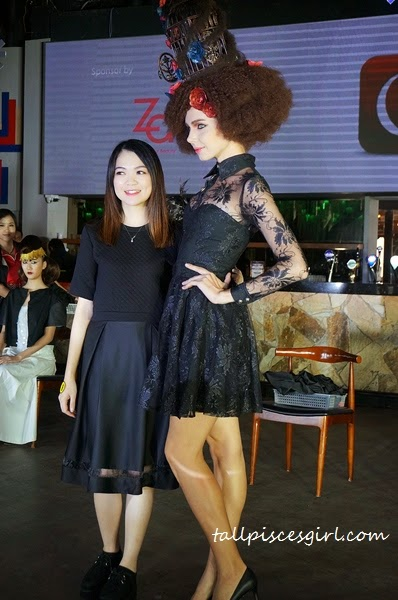 Gelly Wee Makeup Studio Graduation Show + Competition 9