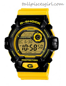 Casio G-Shock Crazy Color Collection Yellow Watch G8900SC-1Y