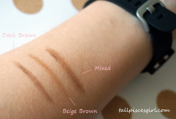 Swatches Dual Eyebrow Stick in 01 Natural Brown