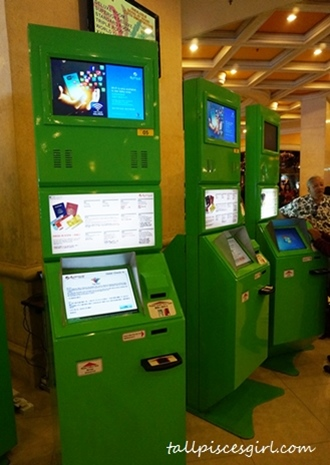 Genting First World Hotel - Old self check-in system