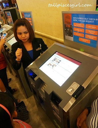 Genting First World Hotel - New self check-in system