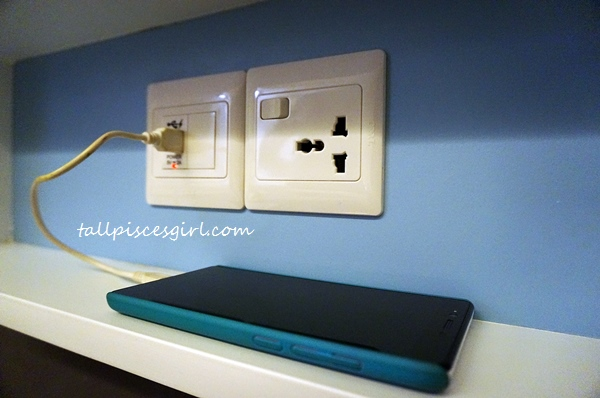 XYZ Deluxe Room - International socket and USB power point